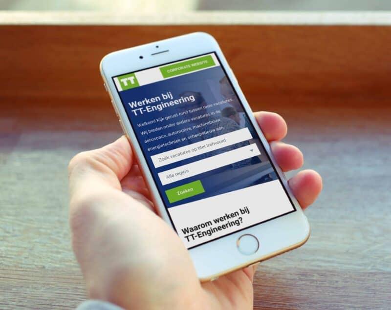 Mobiele website OAASE