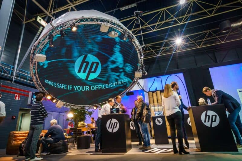 HP - Hackers under the dome - Beursconcept en klantevent