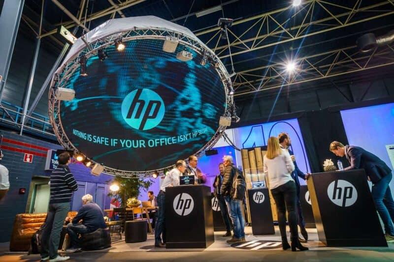 HP - Hackers under the dome - Beursconcept en klantevent