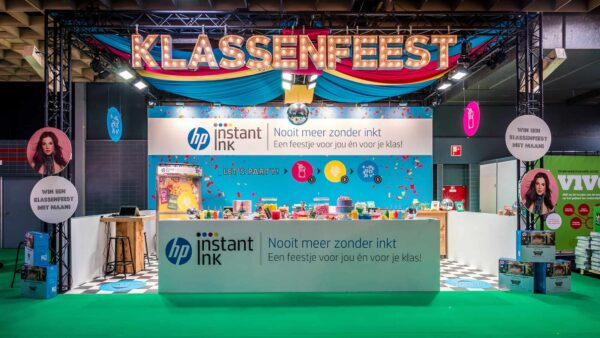 effectgroep - HP Klassenfeest Beursstand