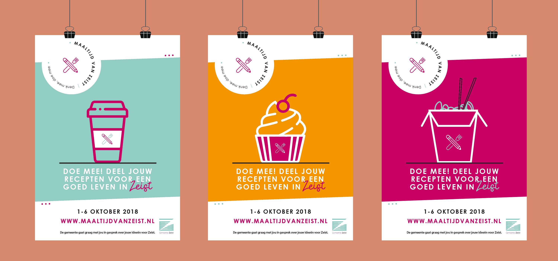 Gemeente Zeist - Maaltijd van Zeist - posters
