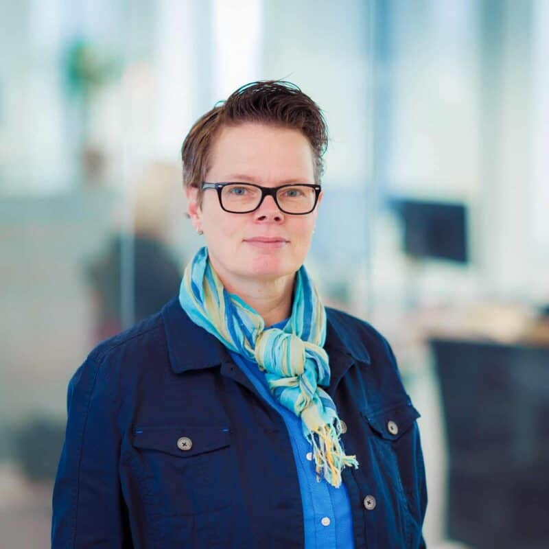 Ingrid van Vliet - project manager digital - effectgroep