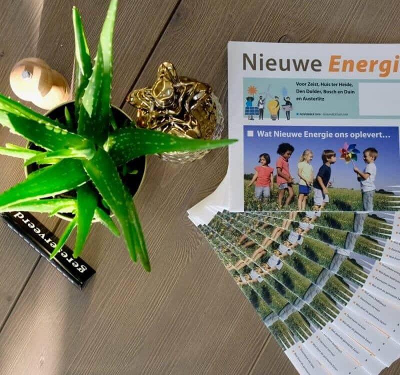 gemeente zeist energietransitie krant