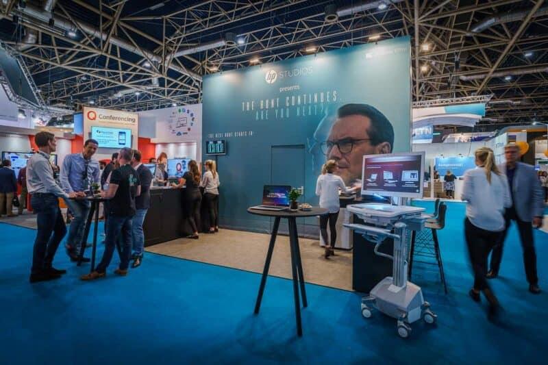 HP - Beursconcept en stand - Zorg en ICT