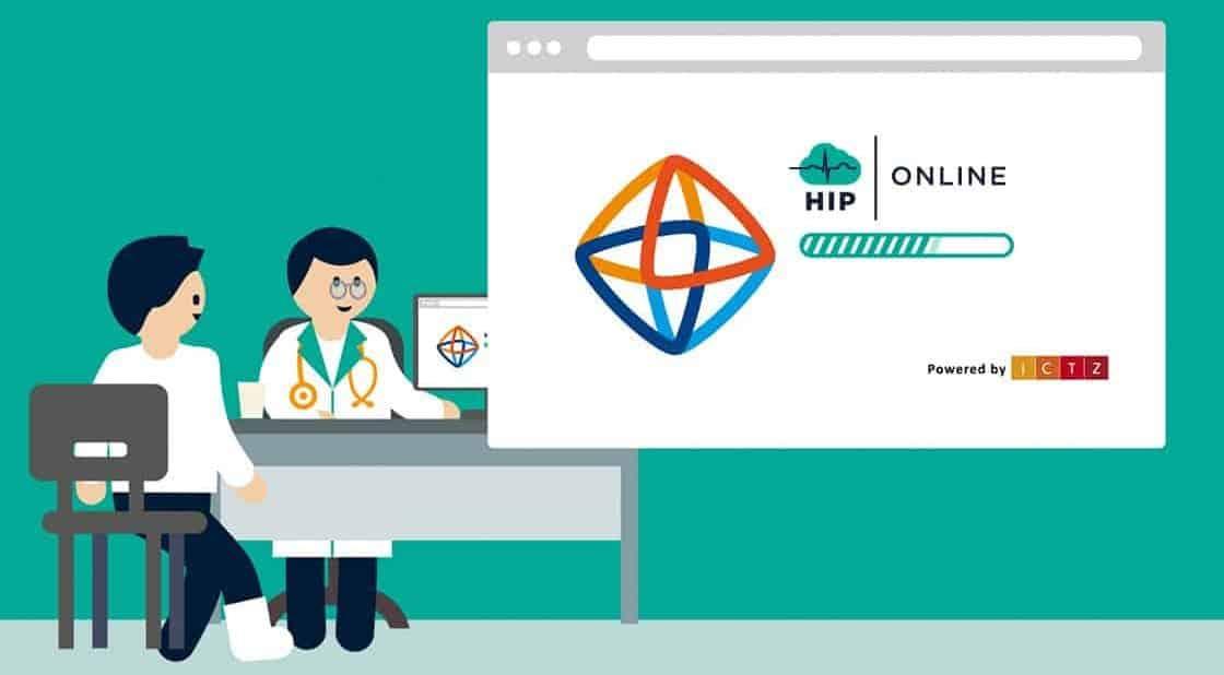 Hip Online vormgeving