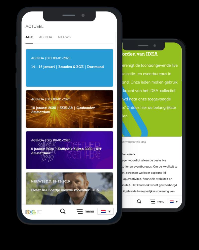 Idea website development