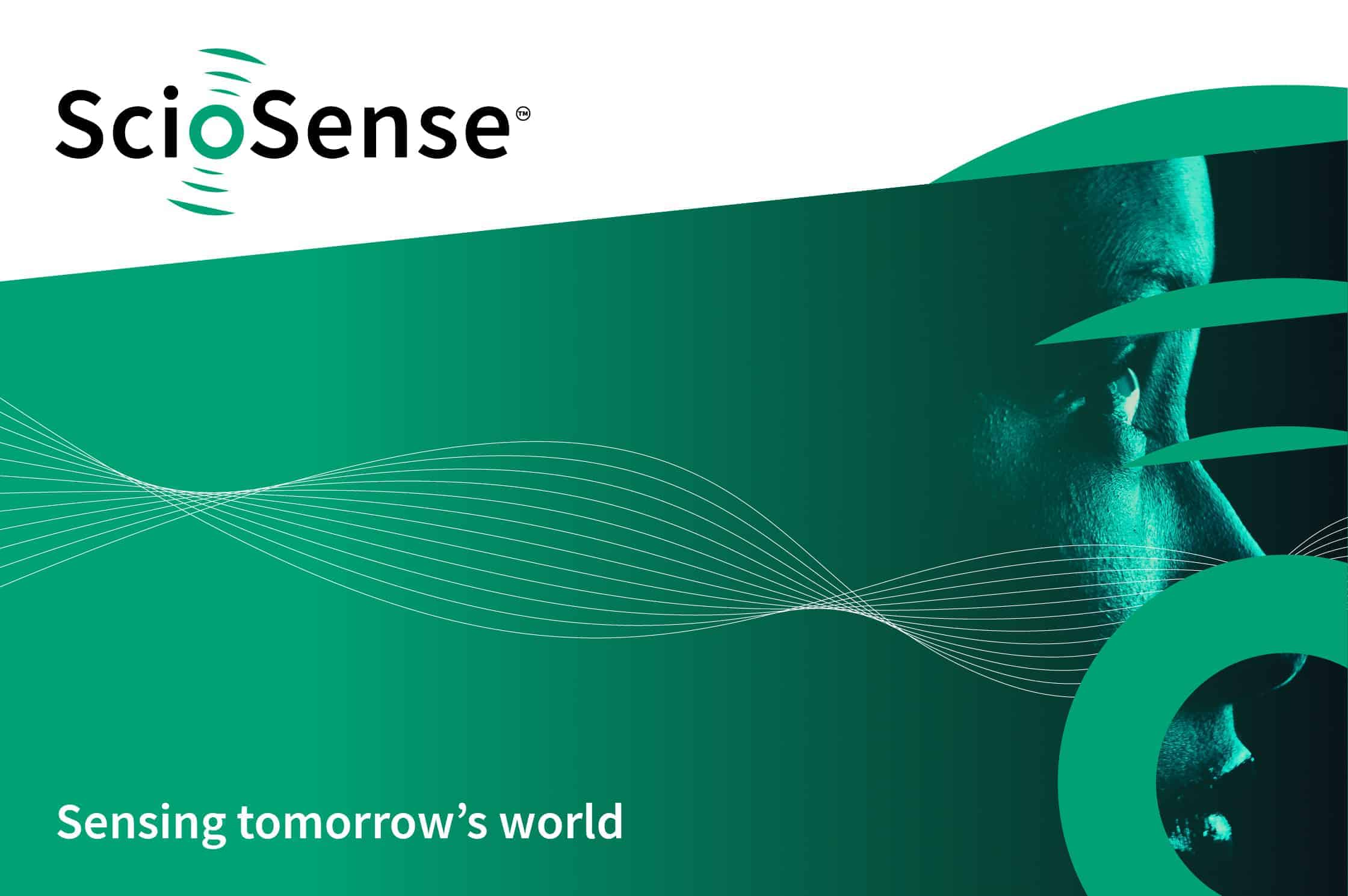 ScioSense logo brand development
