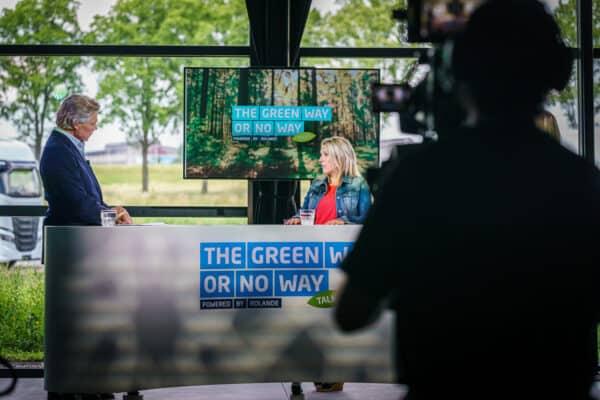 Video opnamen The Green Way or No Way Talks van Rolande