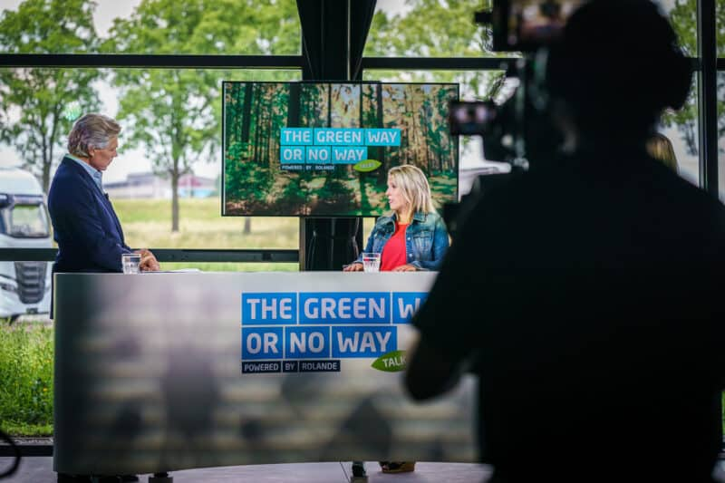 Video opnamen The Green Way or No Way Talks van Rolande