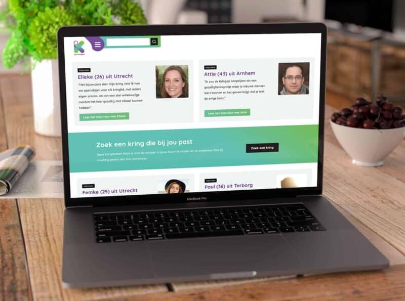 responsive website de kringen